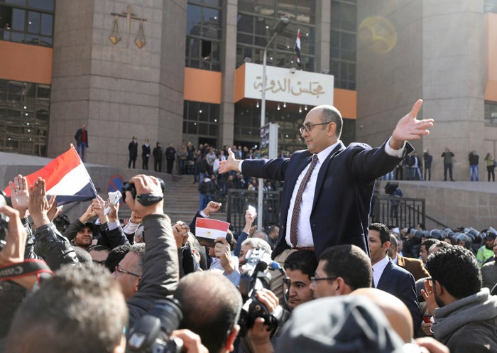 Egypt's blocking of websites came days after the arrest of Khalid Ali, a prominent opposition leader.