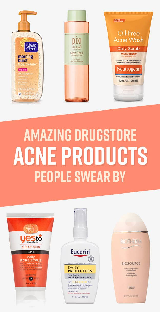Drugstore Acne Products That People Actually Swear By