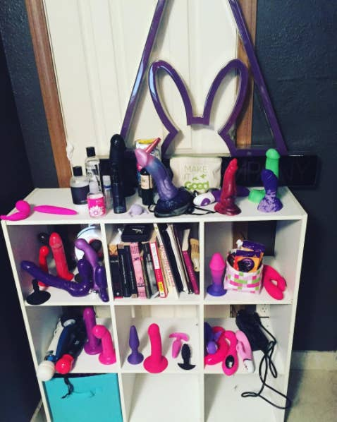 We see people of all ages, genders, and sexualities, not to mention people who are looking for a wide range of pleasure products and kinks.