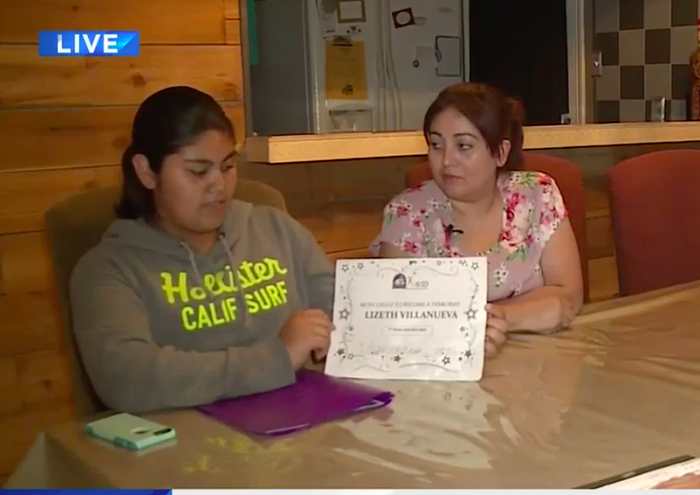 """Villanueva said that the teacher warned the students while giving out the awards that it """"might hurt their feelings"""" but that it was meant to be """"funny."""" She said she didn't think it was a joke. """"I do not feel comfortable with this... I do not feel comfortable being in the same classroom with [the teacher],"""" she told KPRC. Her mother said they were upset that this came from a teacher at a program designed """"for advanced kids."""" """"Being a teacher...giving this to a 13-year-old. How is she going to feel when she grows up later on?"""" Hernandez said. BuzzFeed News has reached out to Villanueva for comment."""
