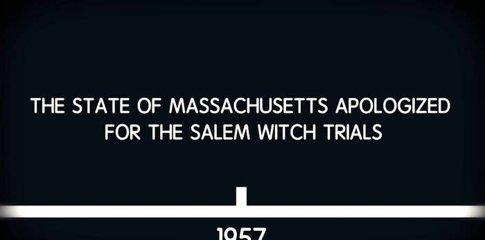 why did the salem witch trials occur