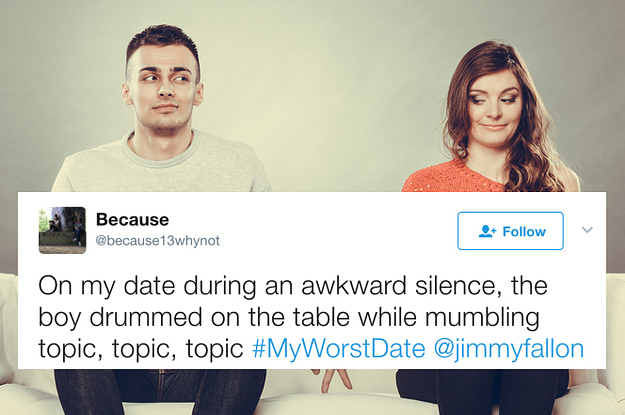 """23 Hilarious """"Worst Date"""" Tweets That Prove Love Is Dead"""