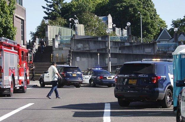 Man Yelling Hate Speech On Portland Train Kills Two Men Who Try To Intervene, Police Say