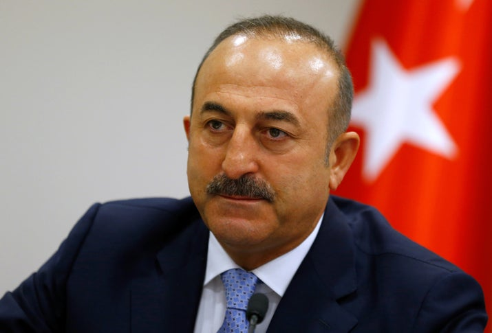 Turkey's Foreign Minister Accuses European Intelligence Services Of Infiltrating Turkish Media