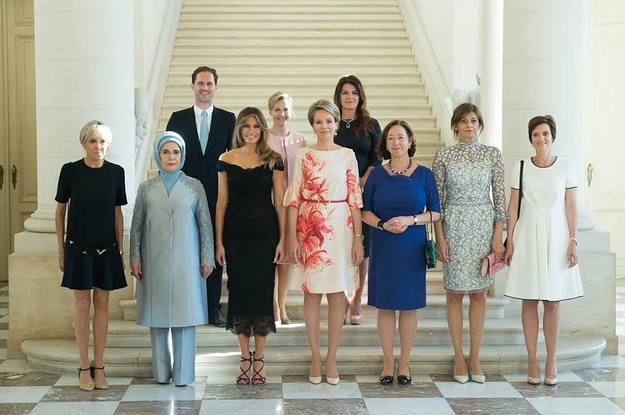 The White House Omitted The Husband Of Luxembourg's Gay Prime Minister From A Photo Caption