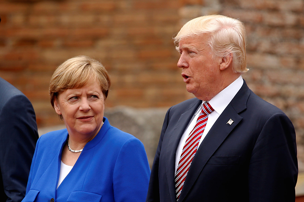 Angela Merkel Says Germany Can't Fully Rely On The US Or The UK Anymore