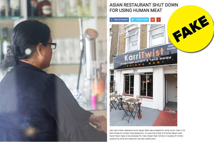 Shrina Begum, the owner of Karri Twist, and the fake news story that's ruining her business.
