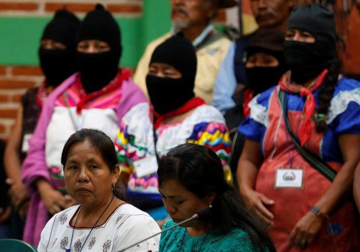 Fue elegida por el Consejo Nacional Indígena (CNI) y el Ejército Zapatista de Liberación Nacional (EZLN) para representarlos en los comicios a la Presidencia del próximo año, a través de una candidatura independiente.