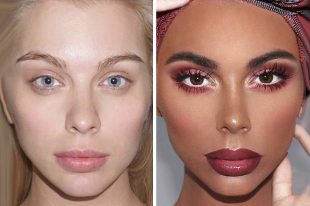 This Makeup Artist Made A White Model Black And People Are Furious