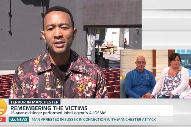 John Legend Paid A Moving Tribute To A Teen Who Was Killed In The Manchester Attack