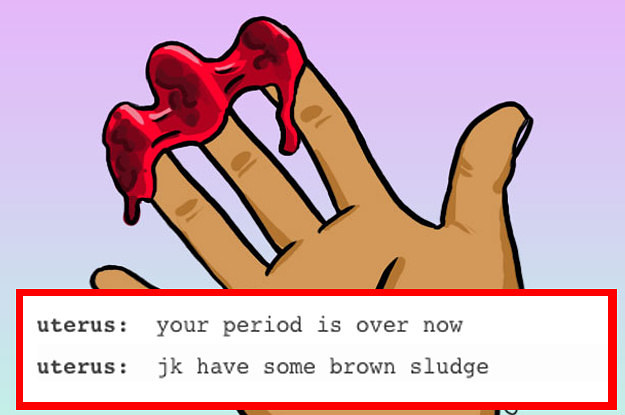 19 Times Tumblr Was Fucking Funny About Periods