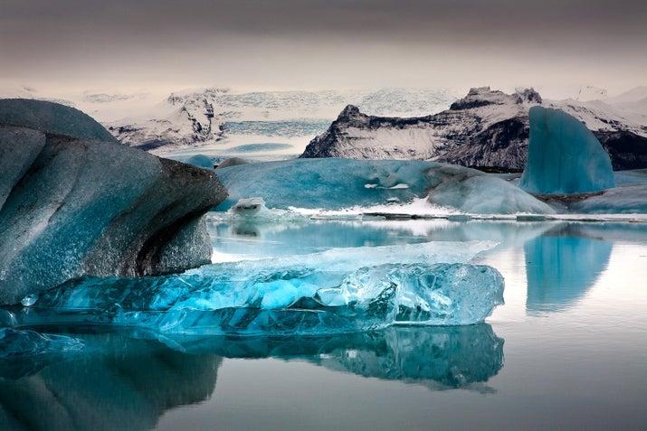 Este famoso glaciar en Islandia no defrauda, es absolutamente espectacular.