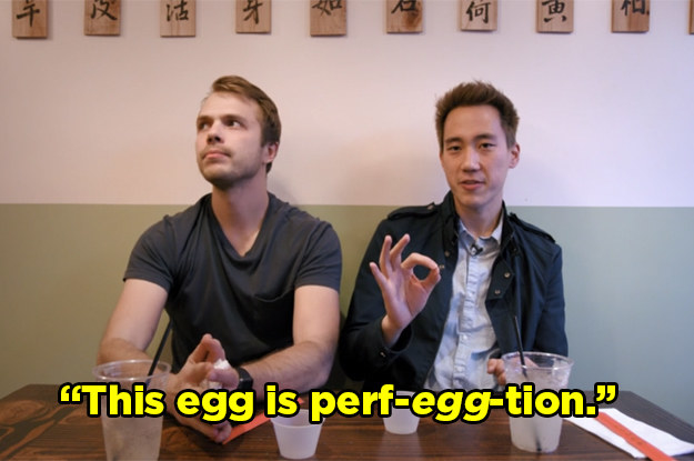 "Both Steven and Andrew were big fans of the flavorful hard-boiled egg. Andrew even said ""I wish I could buy 12 of these at the grocery store."""