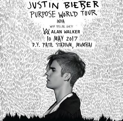 He'll perform at the D.Y. Patil Stadium, Mumbai, on May 10.