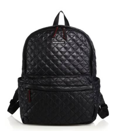 676777a60c This MZ Wallace quilted backpack that's so incredibly comfortable.