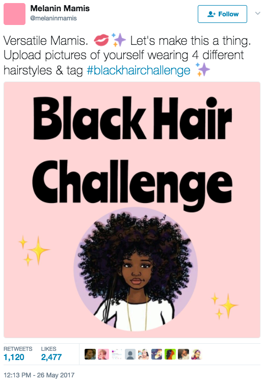 """I love seeing carefree black women embrace their beauty, no matter what negative vibes are thrown at them,"" Miranda told BuzzFeed. ""We can pull off numerous looks and still slay. This hashtag bleeds so much confidence, love and good vibes. From kinks to curls, we're all beautiful and powerful."""