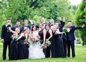 Have A Really Big Wedding Party