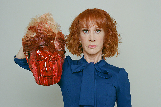People Are Furious About This Photo Of Kathy Griffin And Donald Trump
