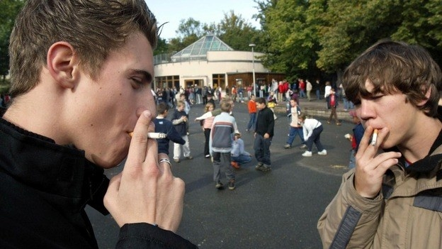 smoking at school A school board is given the right to make rules that ensure the safety, health, and well-being of the students under its care, and smoking at school is considered a threat to these protected areas.
