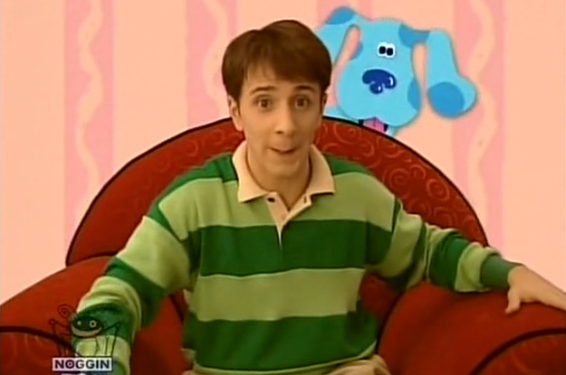 Yes Steve From Blues Clues Is Alive And Handsome Af Now