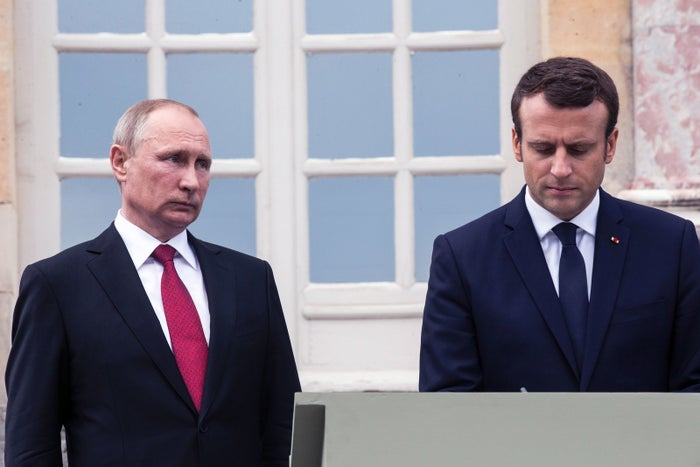 "During Putin's visit to France, which involved some strong words from Macron, the Russian president recalled just how far back relations between the two countries go, harkening back beyond the exhibit on Peter the Great that the two had just walked through. ""The educated French public is familiar with Anna of Rus, Queen of France,"" he said, referring to the wife of France's Henri I."