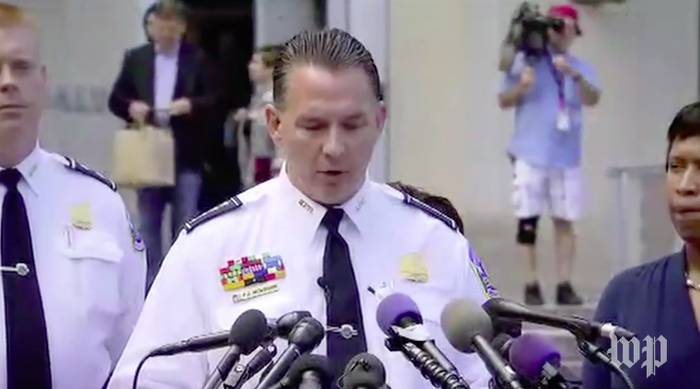 DC Police Chief Peter Newsham