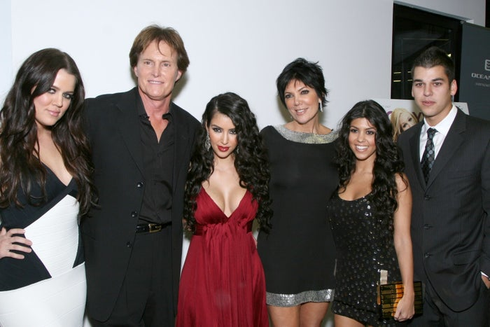 Here's the fam at their 2007 premiere party.