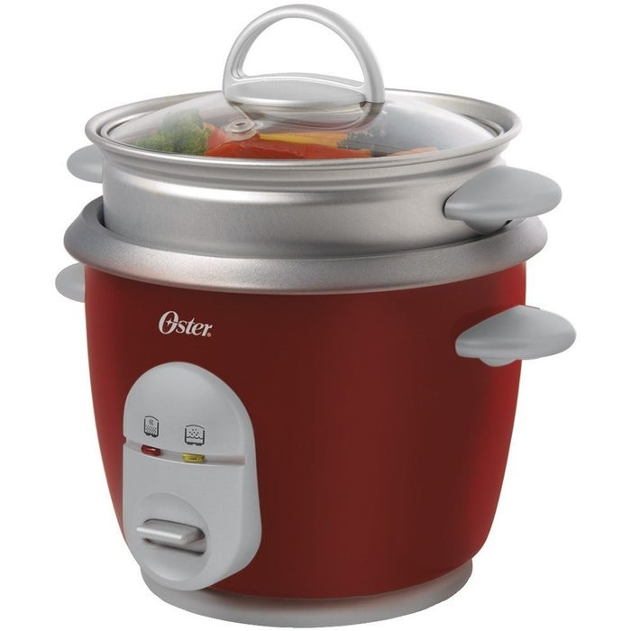 "Promising Review: ""I recently spent a week at my sister's house and she used this cooker to make rice for dinner. I ordered one immediately. You just pour in rice and water, push the start button, and voila! Rice perfectly cooked. I've been using the boil-in-a-bag type for just my husband and me but this is way easier, and the results are consistently great – no more guessing, and it frees up the stove for other things."" –KarinPrice: $18.96"