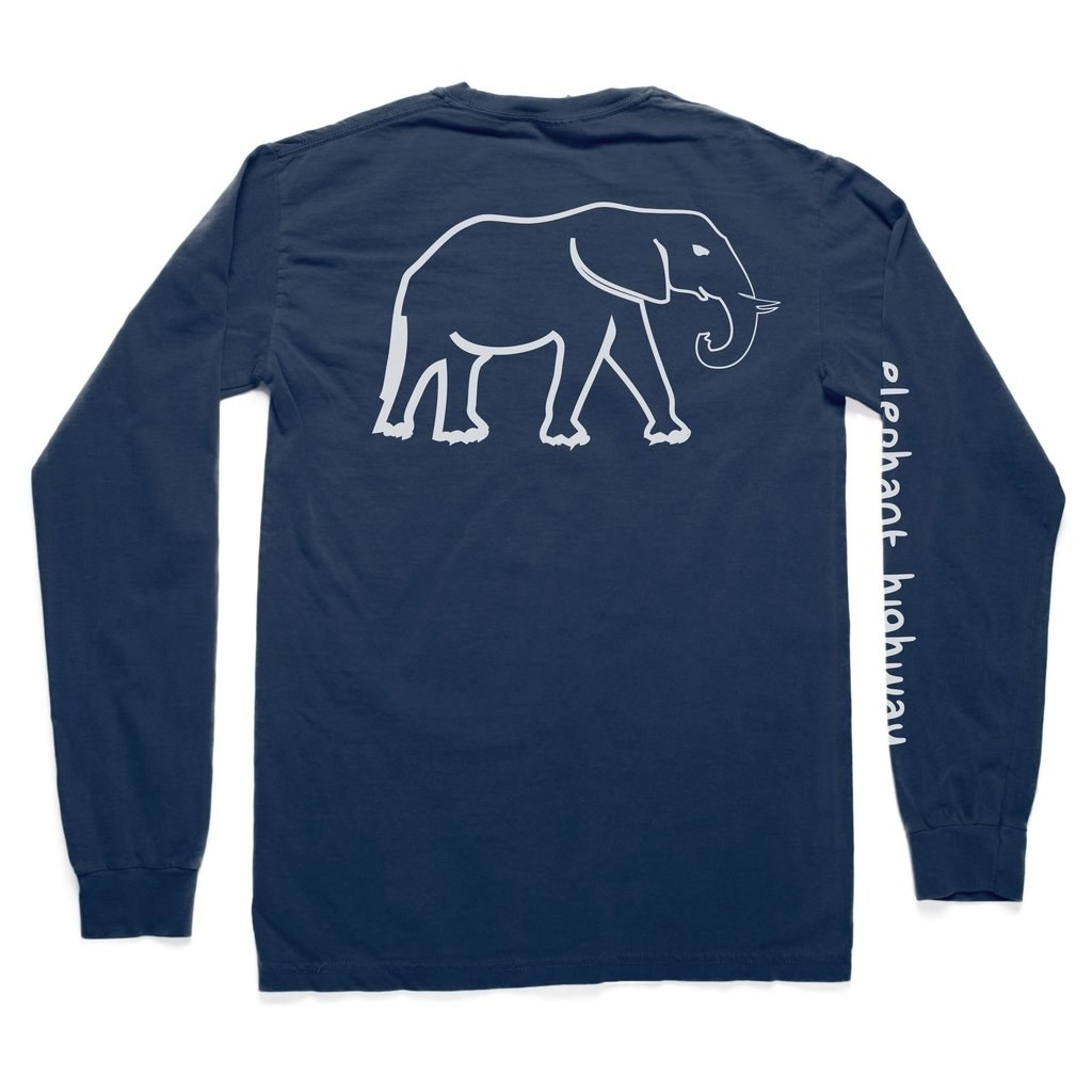 fc4d1c35c 13. This long-sleeved tee with a tiny elephant pocket detail.