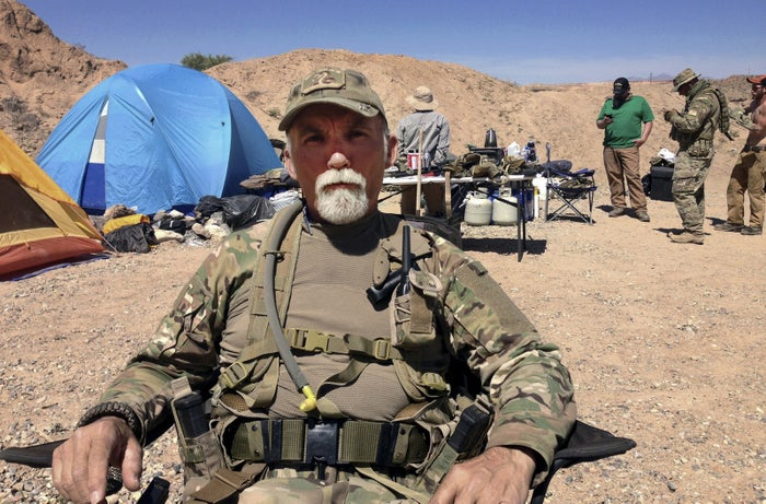 Gerald DeLemus in Bunkerville, Nevada, on April 16, 2014.