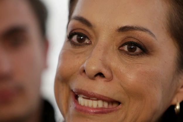 Según las últimas encuestas, Josefina ha caído en los sondeos.