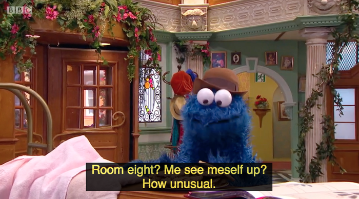 Yes, I left the subtitles on during the show because the dialogue is glorious.