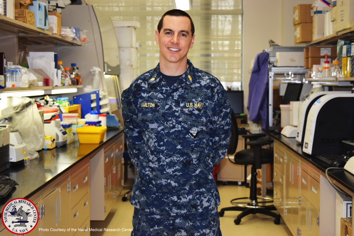 Theron Hamilton, head of genomics and bioinformatics at the Biological Defense Research Directorate of the Naval Medical Research Center