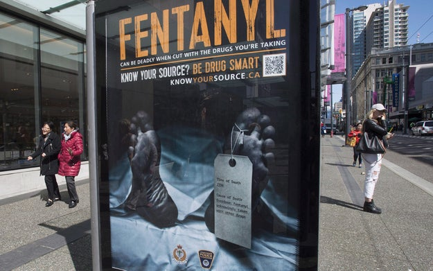 The downtown eastside has become ground zero for Vancouver's battle with fentanyl overdoses.