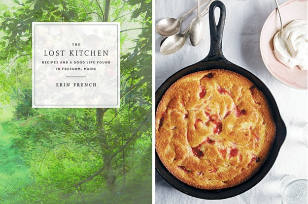This Rhubarb Spoon Cake Is What You Should Bake This Weekend