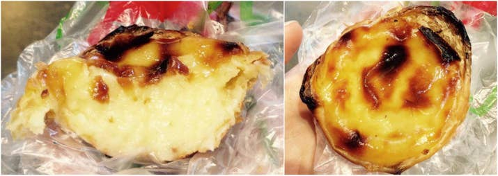 The St. Lawrence market is a must-see for anyone touring Toronto, and these custard tarts and probably the second most famous food to enjoy there (followed by the peameal sandwich). I thoroughly enjoyed this custard tart from Carousel Bakery, which was flaky and charred outside, yet tender and creamy inside. I would have eaten ten of these, and would highly recommend it.