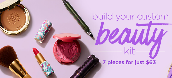 Create your beauty kit here.