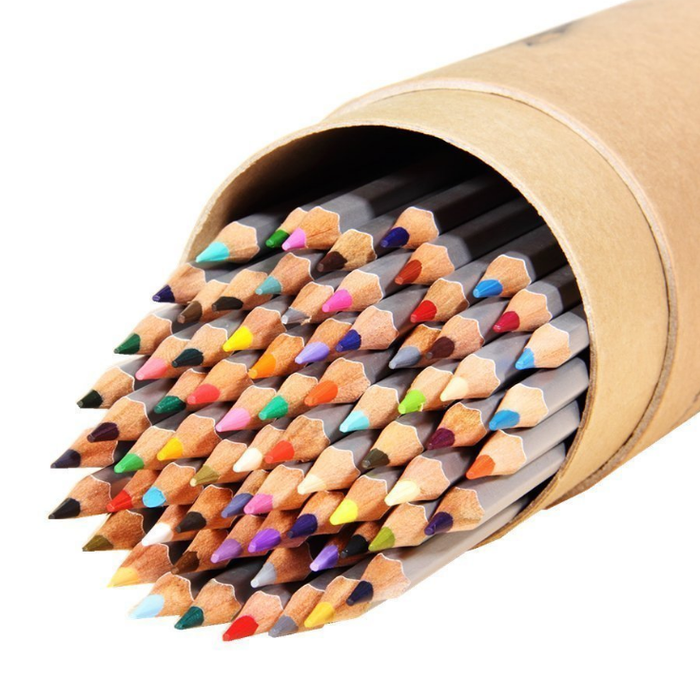 Get the colored pencils here.
