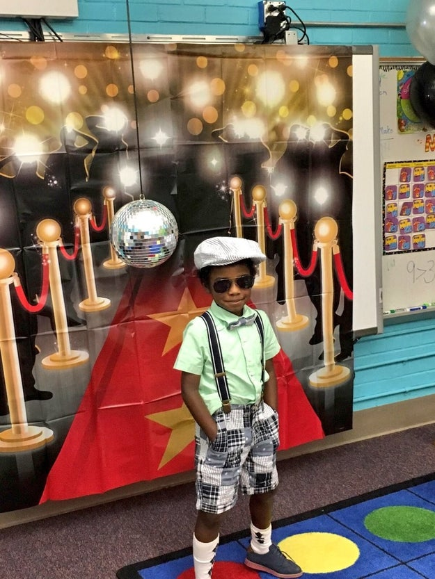 "On Wednesday, Breyden and his classmates turned up in style at the ""Millionaire Bash,"" a class party celebrating every student for reading 1,000,000 words that year."