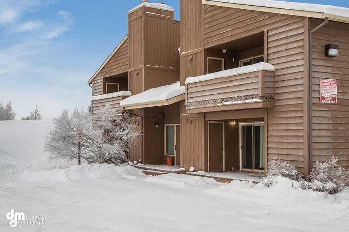 Size: Condo: Two bedrooms, one bath, 630 sq. ft. Location: Located in the Bayshore-Klatt neighborhood of Anchorage.