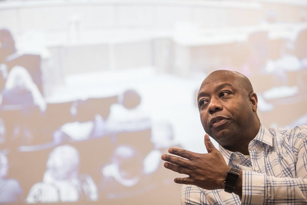 Tim Scott Won't Comment On The Justice Department's Not Bringing Federal Charges In Louisiana