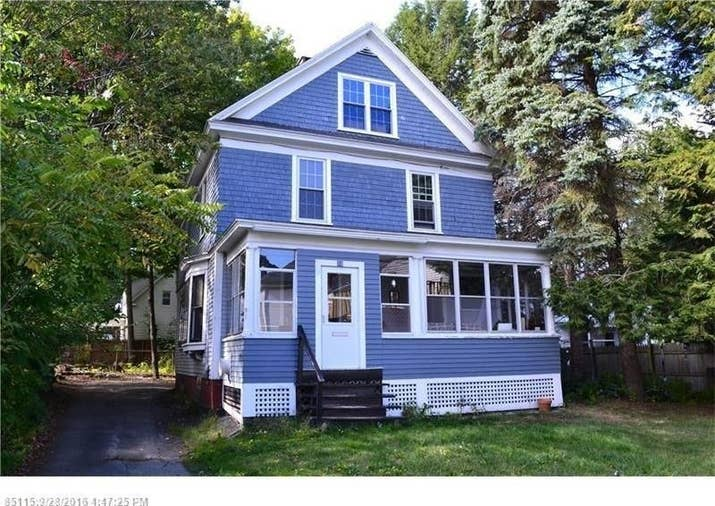 Size: Three bedrooms, one full bath and one half bath, 1,620 sq. ft. Location: Augusta is the capital of Maine and is a city of approximately 20,000.