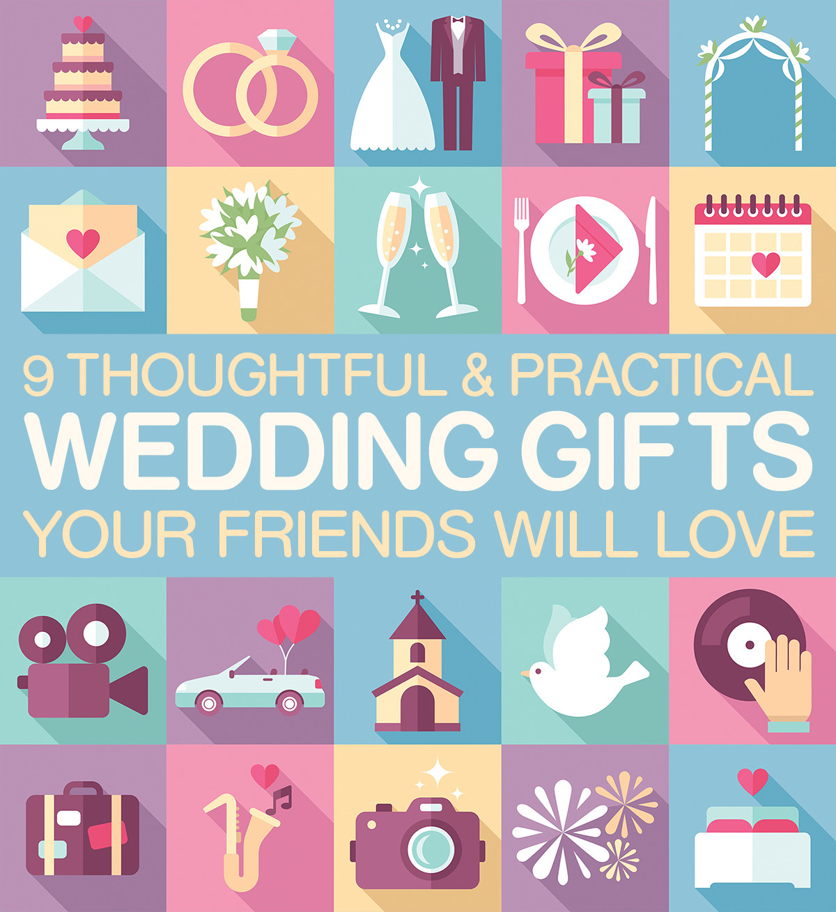 Practical Wedding Gifts: 9 Thoughtful And Practical Wedding Gifts That Won't Get