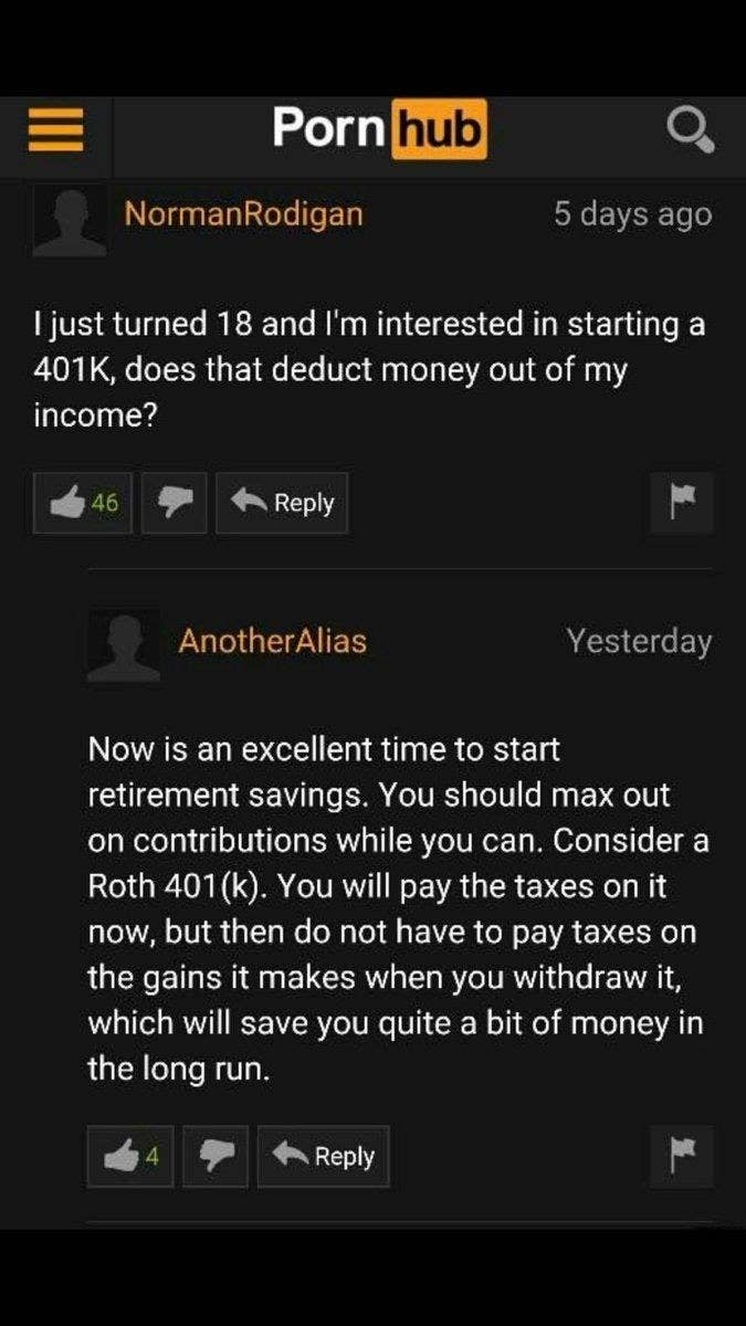 Funny Porn H - 1. People looking for 401(k) guidance.