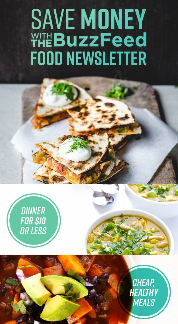 Cook Dinner For Less With The Buzzfeed Tasty Newsletter