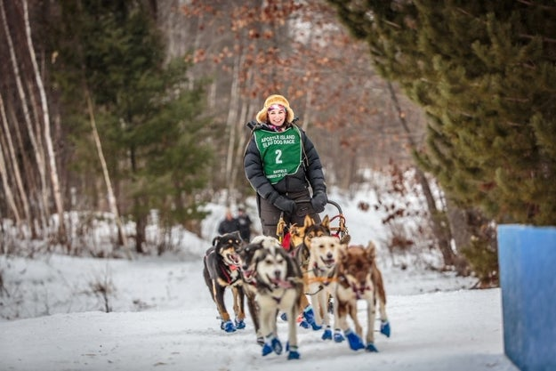 Blair Braverman is a journalist, author, and a dogsledder who lives in northern Wisconsin. She and her husband, Quince Mountain, live with 21(!) Alaskan huskies on a farm.
