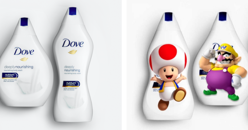 People Are Seriously Confused And Are Seriously Trolling Dove Over These Body Wash Bottles