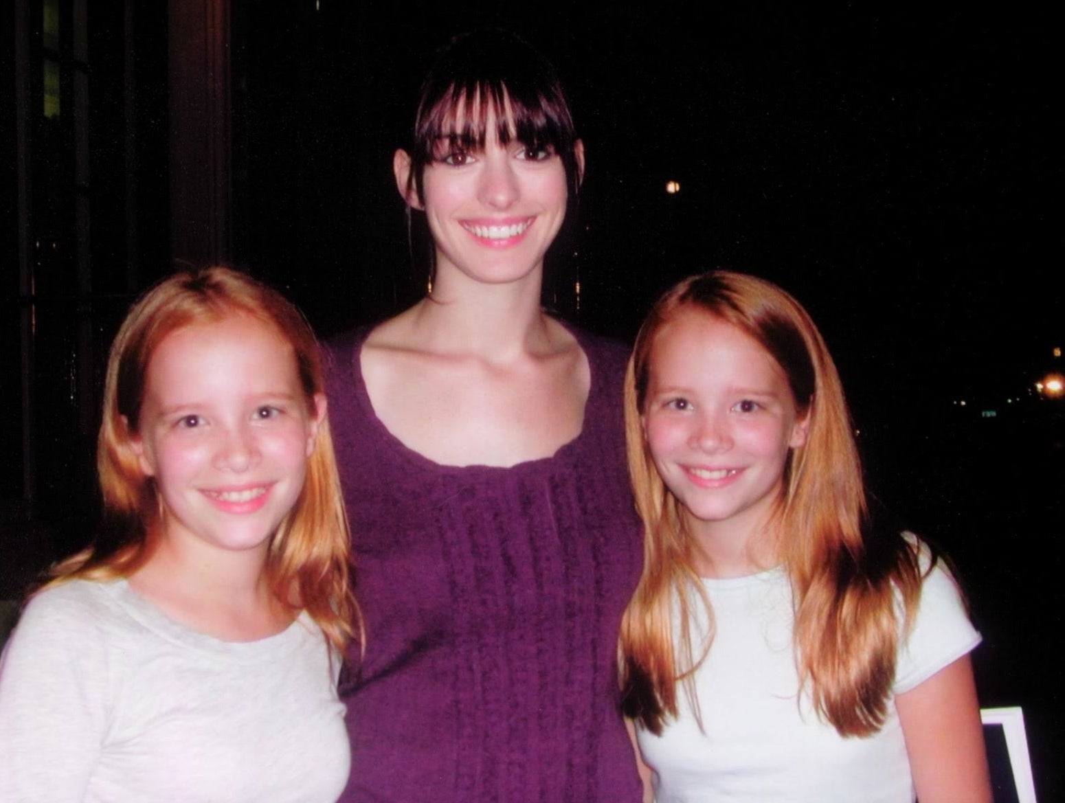 And they were most excited about working with Anne Hathaway.