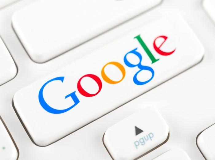 Google keyboard button graphic