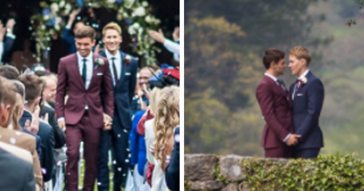 Tom Daley And Dustin Lance Black Have Shared Lovely Photos From Their Wedding